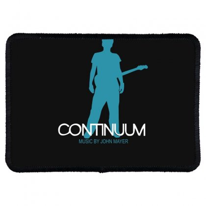 New John Mayer   Continuum Logo Rectangle Patch Designed By Fanshirt