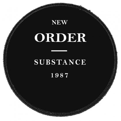New Order Band Substance Round Patch Designed By Fanshirt