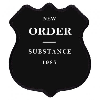 New Order Band Substance Shield Patch Designed By Fanshirt