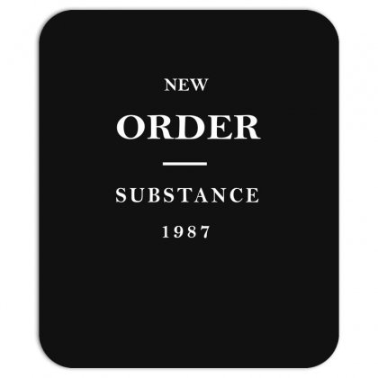 New Order Band Substance Mousepad Designed By Fanshirt