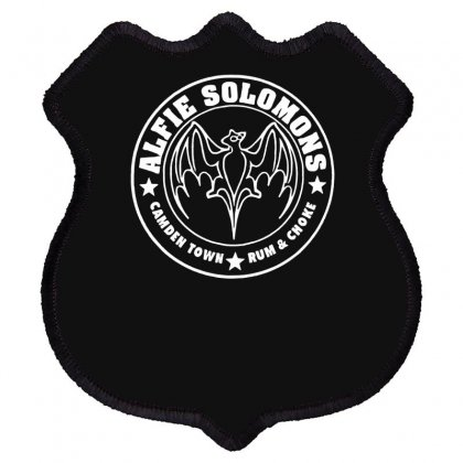 New Peaky Alfie Solomons Shield Patch Designed By Fanshirt