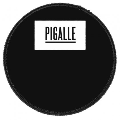 New Pigalle Classic Logo Round Patch Designed By Fanshirt