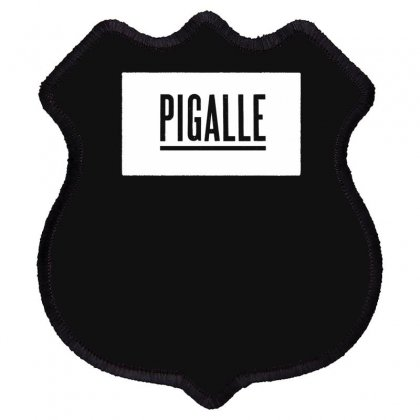 New Pigalle Classic Logo Shield Patch Designed By Fanshirt
