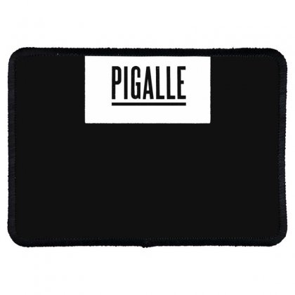 New Pigalle Classic Logo Rectangle Patch Designed By Fanshirt