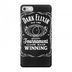 new popular dark elixir clash of clans quote coc iPhone 7 Case | Artistshot