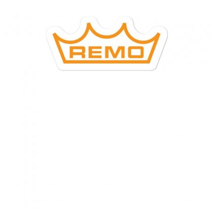 New Remo Cymbals Drum Logo Sticker Designed By Fanshirt