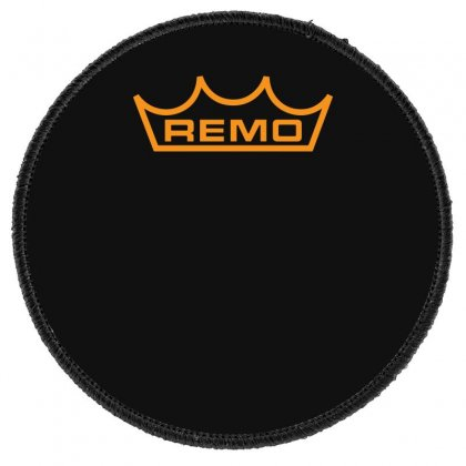 New Remo Cymbals Drum Logo Round Patch Designed By Fanshirt