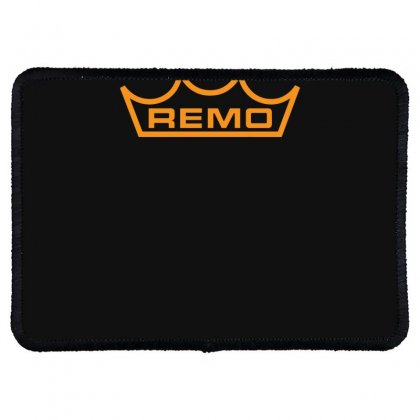 New Remo Cymbals Drum Logo Rectangle Patch Designed By Fanshirt