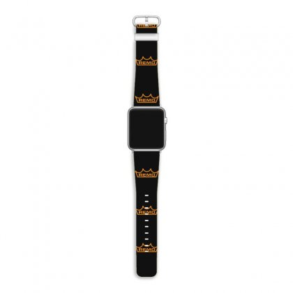 New Remo Cymbals Drum Logo Apple Watch Band Designed By Fanshirt