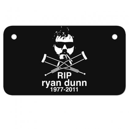 New Ryan Dunn Rip Jackass Cky Motorcycle License Plate Designed By Fanshirt