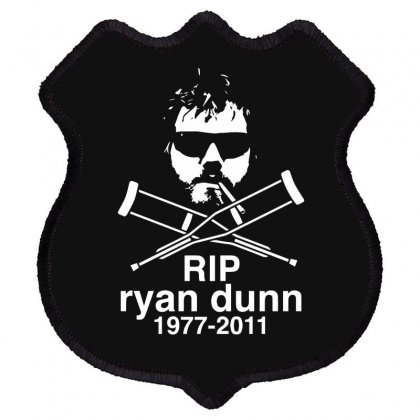 New Ryan Dunn Rip Jackass Cky Shield Patch Designed By Fanshirt