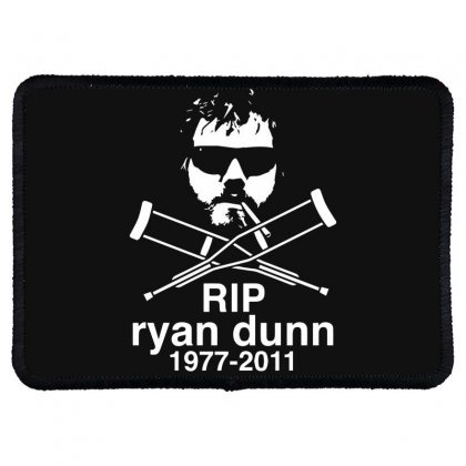 New Ryan Dunn Rip Jackass Cky Rectangle Patch Designed By Fanshirt