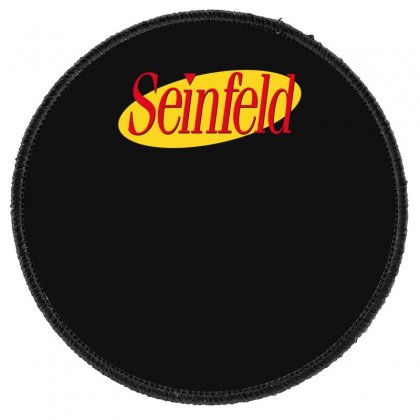 New Seinfeld Logo Round Patch Designed By Fanshirt