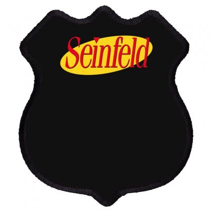 New Seinfeld Logo Shield Patch Designed By Fanshirt