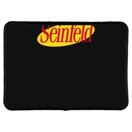 New Seinfeld Logo Rectangle Patch Designed By Fanshirt