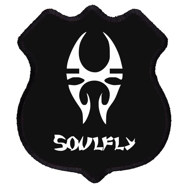 New Soulfly Metal Rock Band Logo Shield Patch | Artistshot