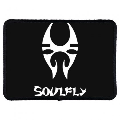 New Soulfly Metal Rock Band Logo Rectangle Patch Designed By Fanshirt
