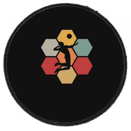 Volleyball Girl Team Club Player 3 Round Patch Designed By Hoainv