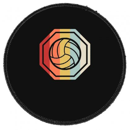 Volleyball Girl Team Club Player Gift Round Patch Designed By Hoainv