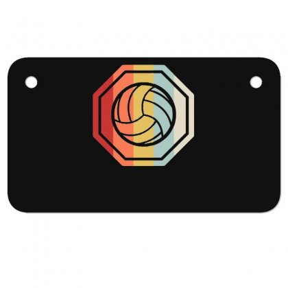 Volleyball Girl Team Club Player Gift Motorcycle License Plate Designed By Hoainv