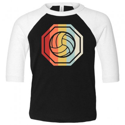 Volleyball Girl Team Club Player Gift Toddler 3/4 Sleeve Tee Designed By Hoainv