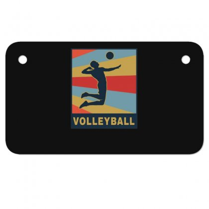 Volleyball Girl Team Club Player Motorcycle License Plate Designed By Hoainv