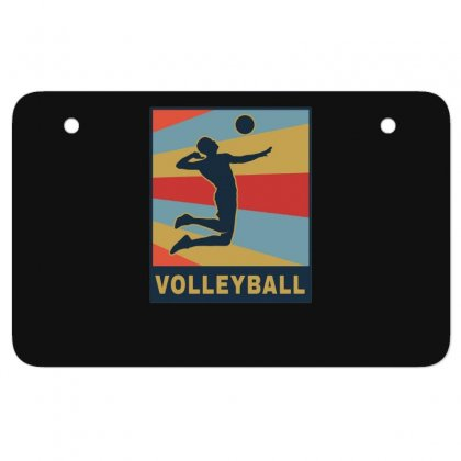 Volleyball Girl Team Club Player Atv License Plate Designed By Hoainv
