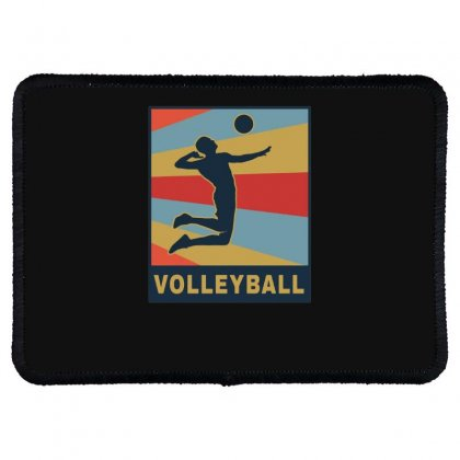 Volleyball Girl Team Club Player Rectangle Patch Designed By Hoainv
