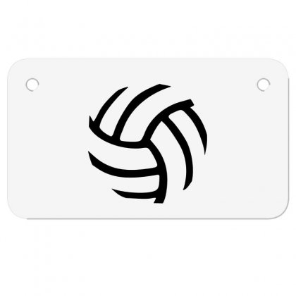 Volleyball Volleyball Motorcycle License Plate Designed By Hoainv