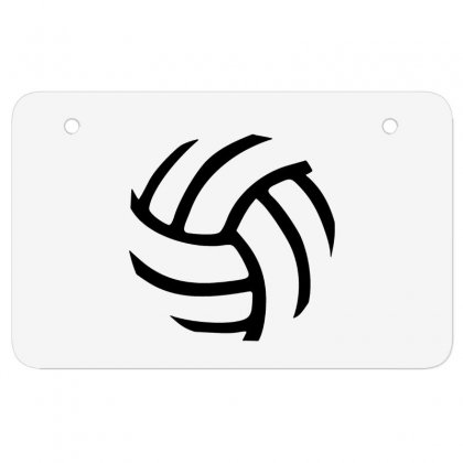 Volleyball Volleyball Atv License Plate Designed By Hoainv
