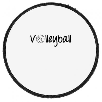 Volleyball Round Patch Designed By Hoainv