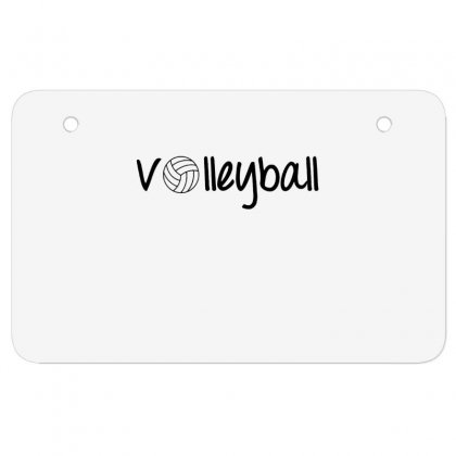 Volleyball Atv License Plate Designed By Hoainv