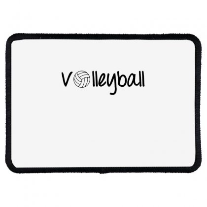 Volleyball Rectangle Patch Designed By Hoainv