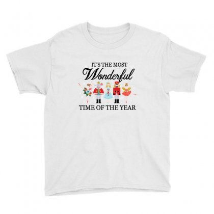 Ballet Christmas Time Youth Tee Designed By Hoainv