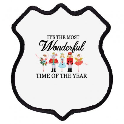 Ballet Christmas Time Shield Patch Designed By Hoainv