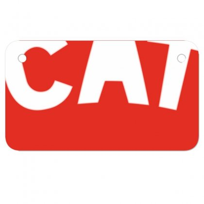 Cat Motorcycle License Plate Designed By Chams