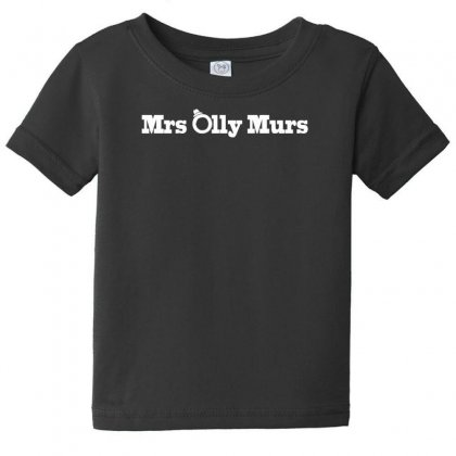 Mrs Olly Murs Baby Tee Designed By F4j4r