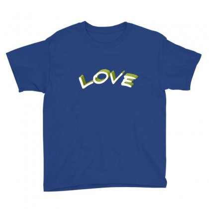 Love Youth Tee Designed By Chams