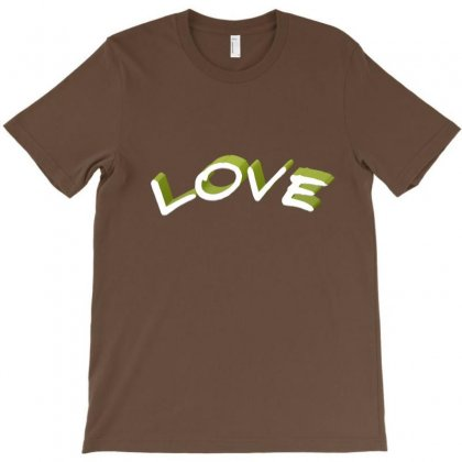Love T-shirt Designed By Chams