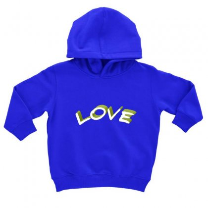 Love Toddler Hoodie Designed By Chams