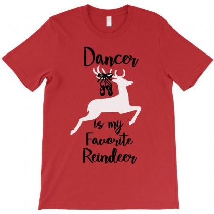 Ballet Dancer Is My Favorite Reindeer Christmas T-shirt Designed By Hoainv