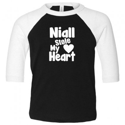 Niall Stole My Heart Toddler 3/4 Sleeve Tee Designed By F4j4r