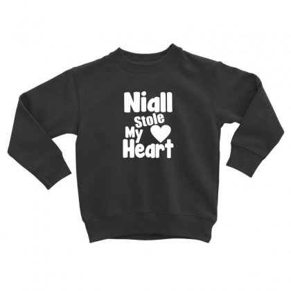 Niall Stole My Heart Toddler Sweatshirt Designed By F4j4r
