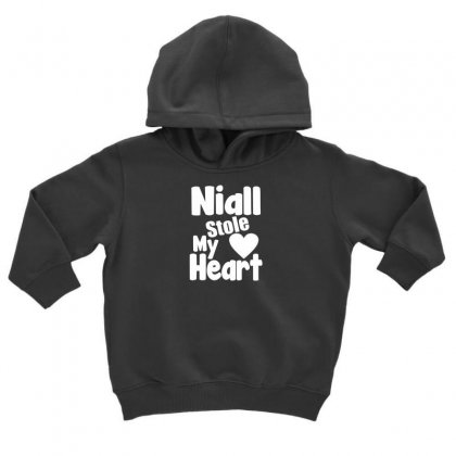 Niall Stole My Heart Toddler Hoodie Designed By F4j4r