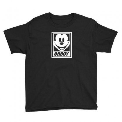 Oh Boy Youth Tee Designed By F4j4r