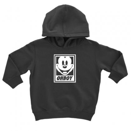 Oh Boy Toddler Hoodie Designed By F4j4r