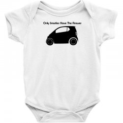 only smarties have the answer Baby Bodysuit | Artistshot