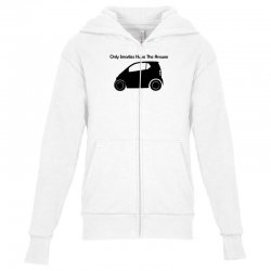 only smarties have the answer Youth Zipper Hoodie | Artistshot