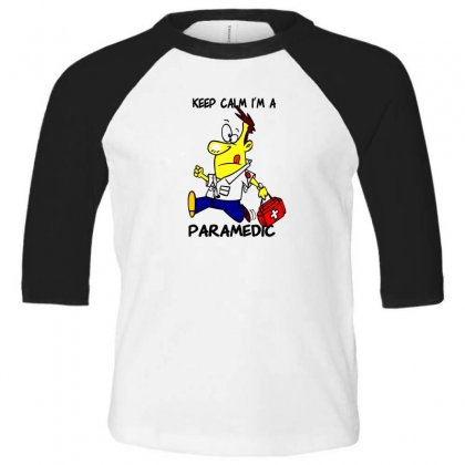 Paramedic Toddler 3/4 Sleeve Tee Designed By F4j4r