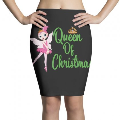 Ballet Queen Of Christmas Pencil Skirts Designed By Hoainv